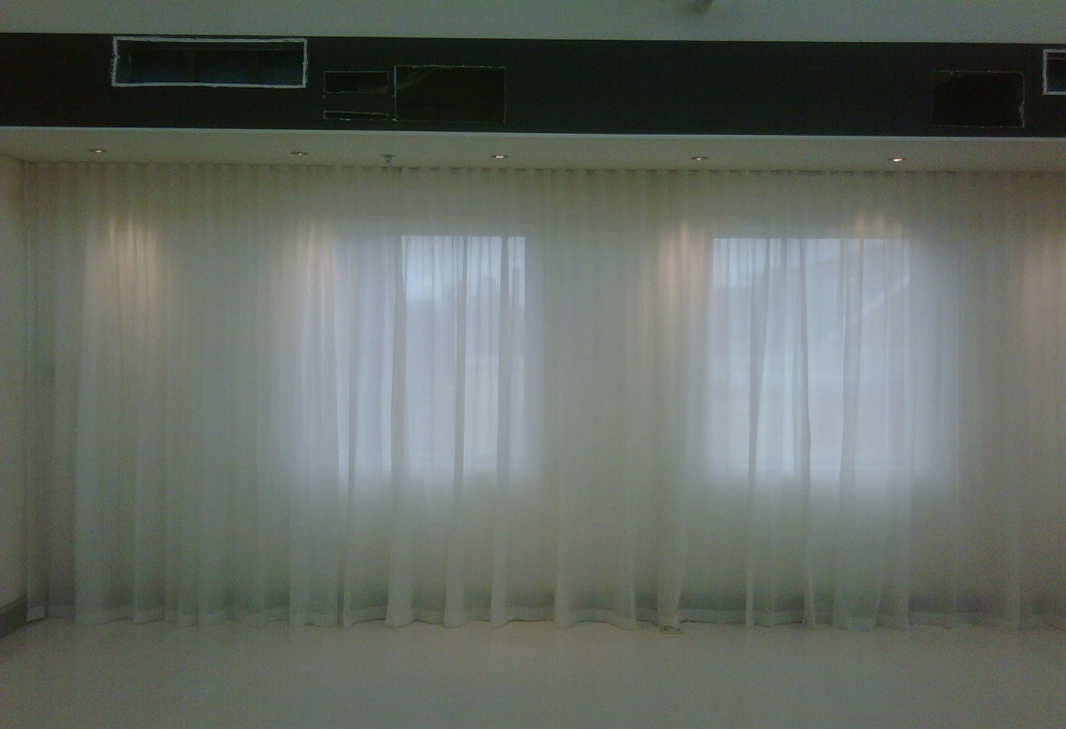 1 Sheer Curtains